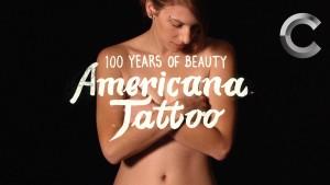 100 let krásy: Americká tetování