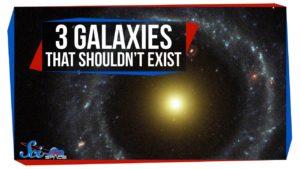 3 galaxie, které by neměly existovat