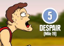 8 fází maratonského běhu
