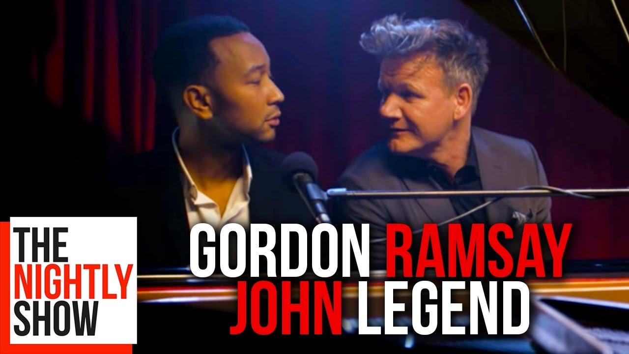 Album se zpívanými urážkami Gordona Ramsayho