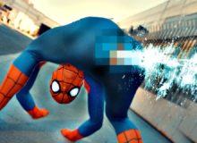 Anatomicky správný Spider-Man