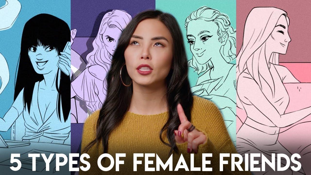 Anna Akana – typy ženských přátelství