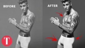 Celebrity a retušování fotografií