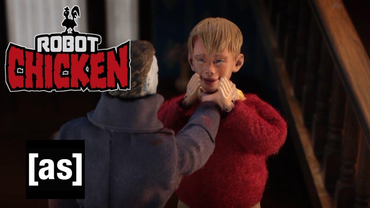 Chicken Robot: Sám doma s Michaelem Myersem
