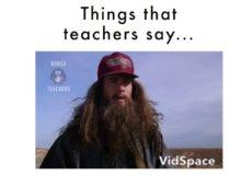 Co říkají učitelé…