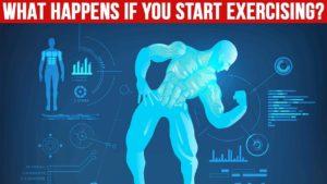 Co se stane když začnete cvičit?