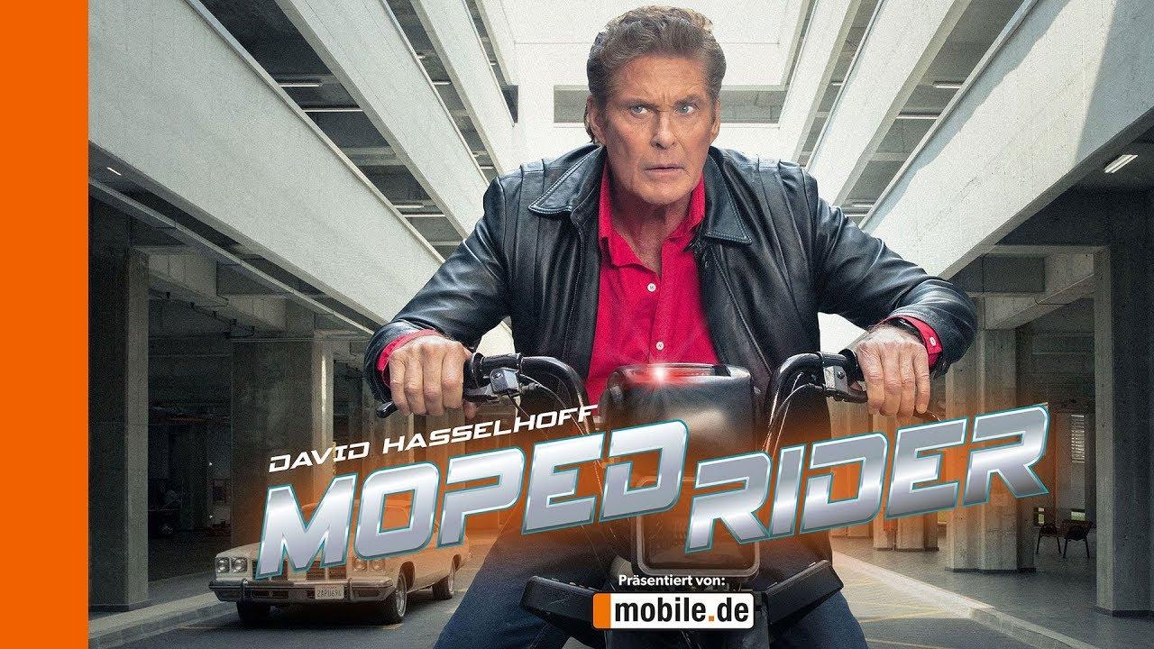 David Hasselhoff jako Moped Rider!