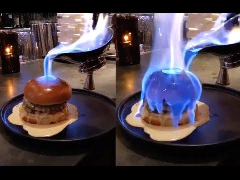DDI: Burger politý ohněm, dorty, epický dron…