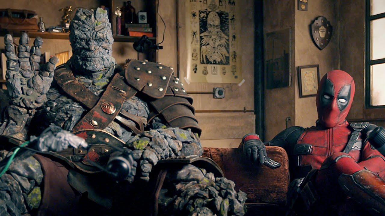 Deadpool a Korg reagují na trailer k filmu Free Guy
