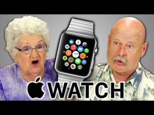 Důchodci reagují na Apple Watch