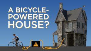 Dům poháněný energií z bicyklu?