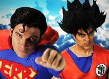 ERB: Superman vs. Goku
