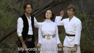 Galadriel vs. Leia: Rapový duel princezen
