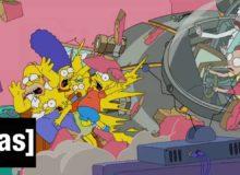 Gaučová znělka Simpsonových s Rickem a Mortym