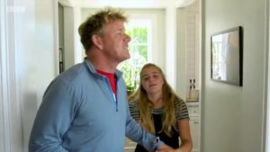 Gordona Ramsayho setře vlastní dcera