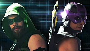 Green Arrow vs. Hawkeye