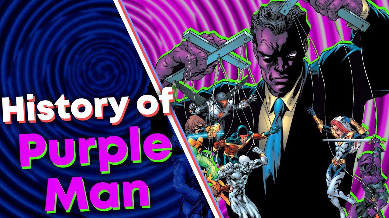 Historie neznámeho padoucha Purple Mana