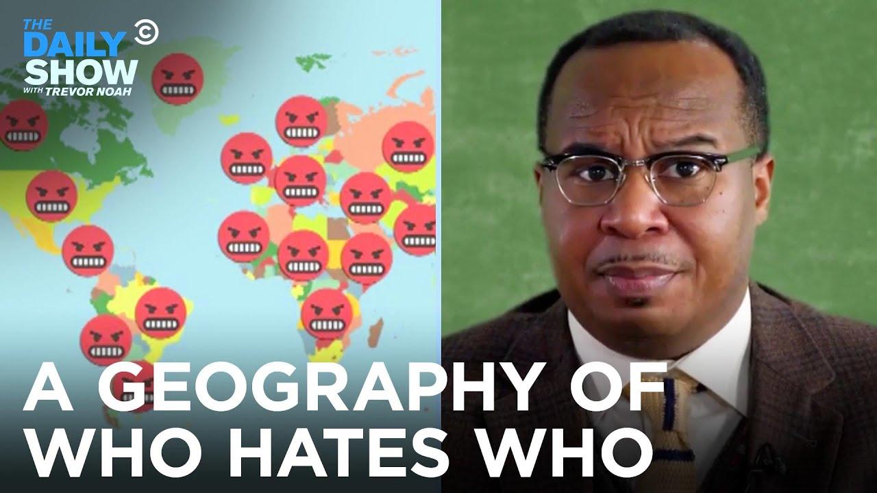Hodina zeměpisu jinak: Kdo koho nesnáší