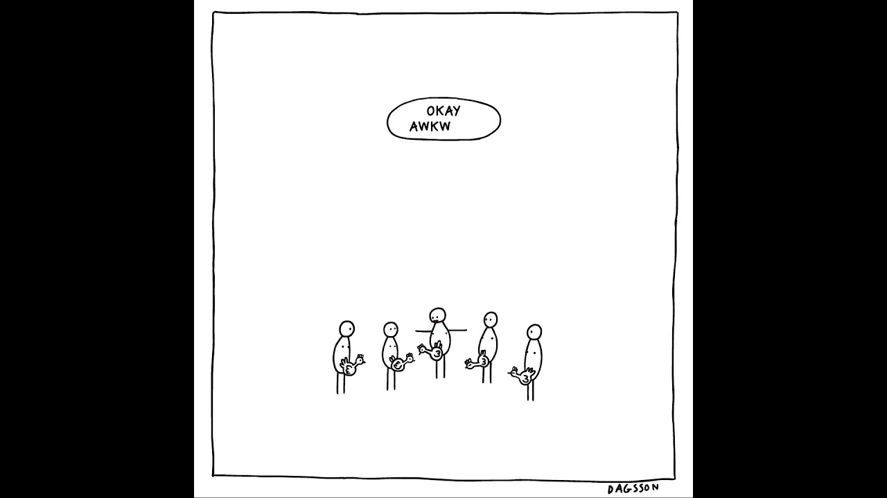 Hugleikur Dagsson – animované vtipy