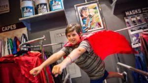 I super hrdinové potřebují svůj obchod
