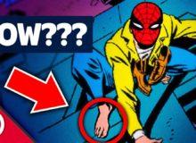 Jak může Spider-Man lézt po zdi v botách?