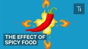 Jak pálivé jídlo ovlivňuje vaše tělo