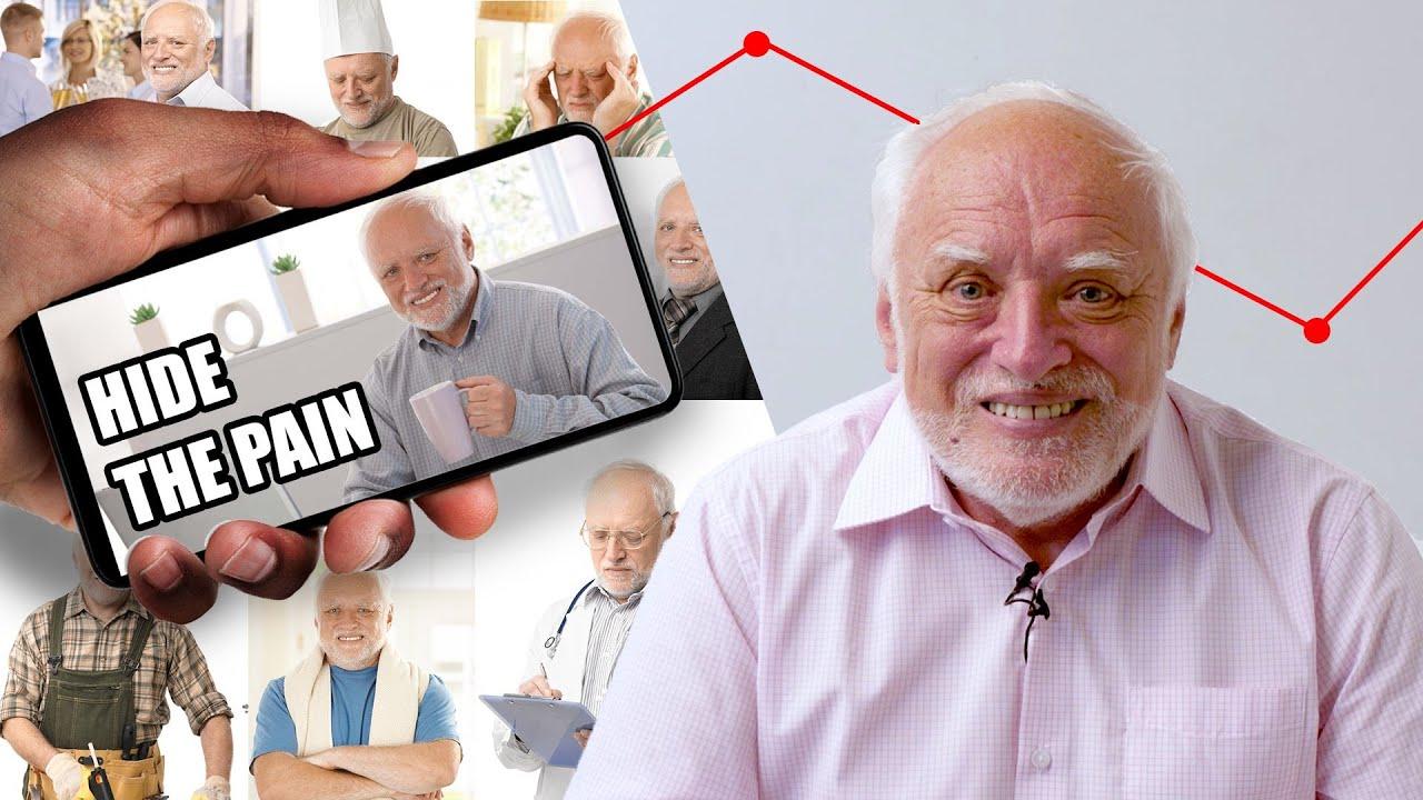 Jak se stát memem – Hide the pain Harold