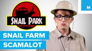 Jak si vystřelit z podvodných e-mailů: Šnečí farma