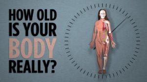Jak staré je vaše tělo?