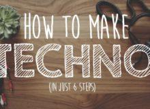 Jak vytvořit techno