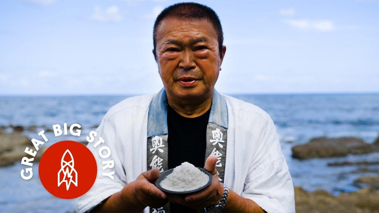 Japonská tradiční výroba soli