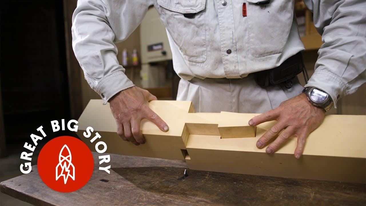 Japonské dřevěné stavby bez jediného hřebíku