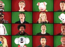 Jimmy Fallon s dalšími celebritami přeje nádherné Vánoce