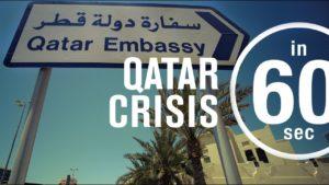 Katarská krize v 60 sekundách
