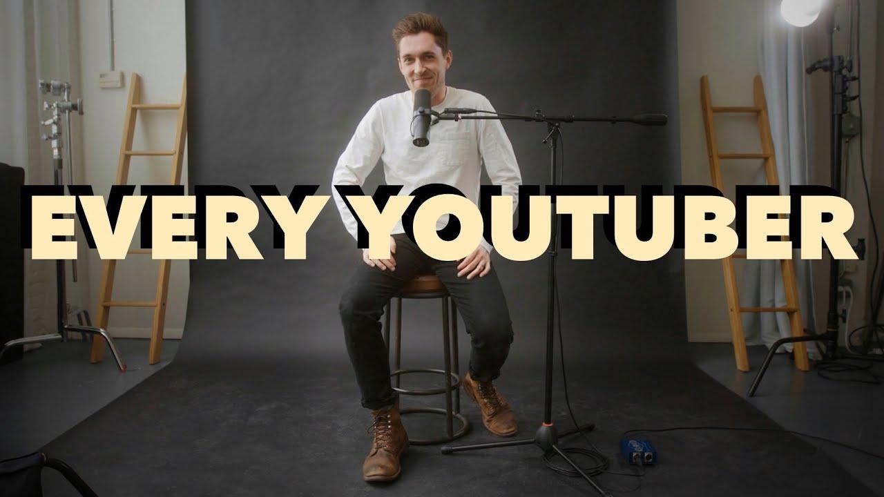 Každý youtuber v roce 2021