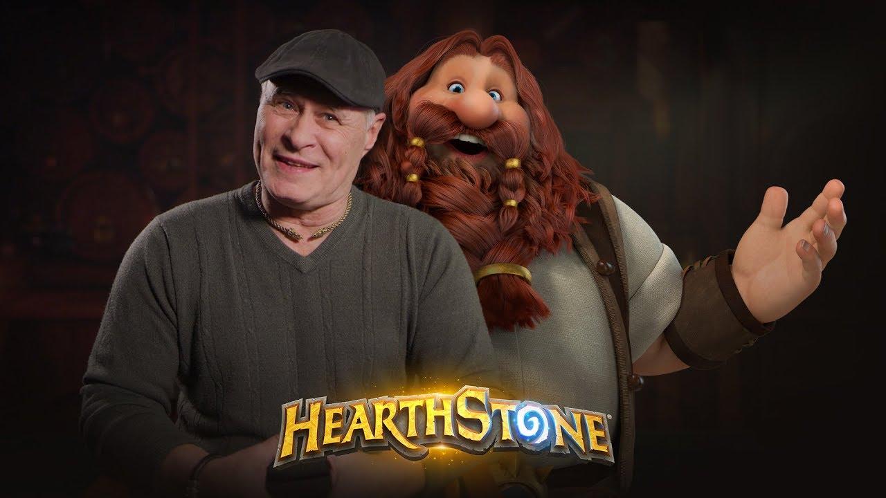 Kdo se skrývá za hlasem hry Hearthstone?