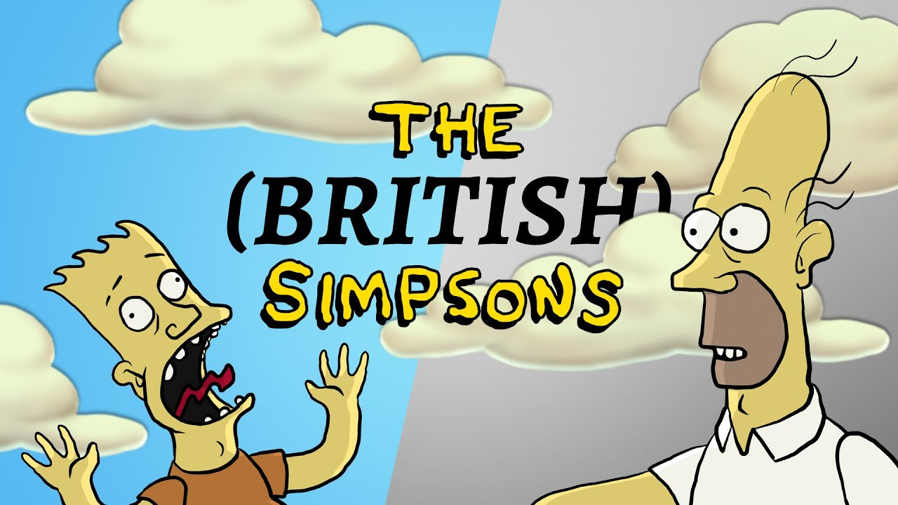 Kdyby byli Simpsonovi Angličané