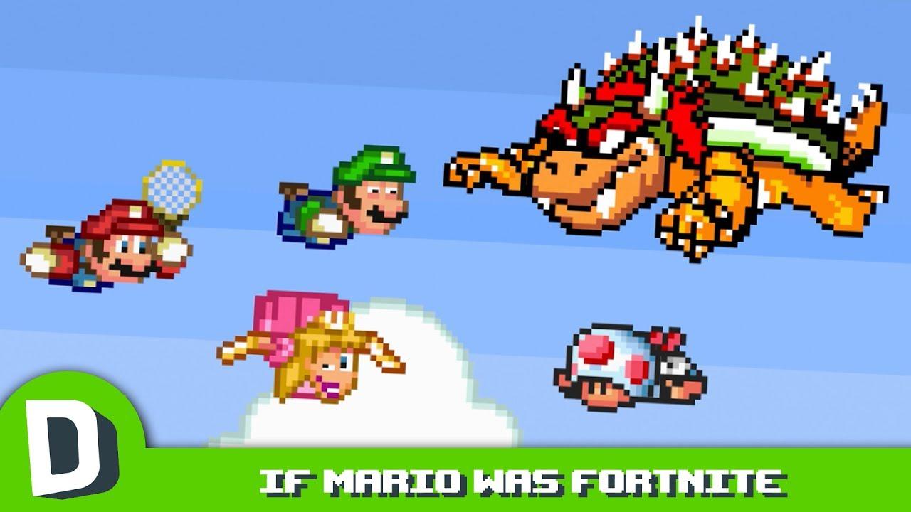 Kdyby Mario byl Fortnite