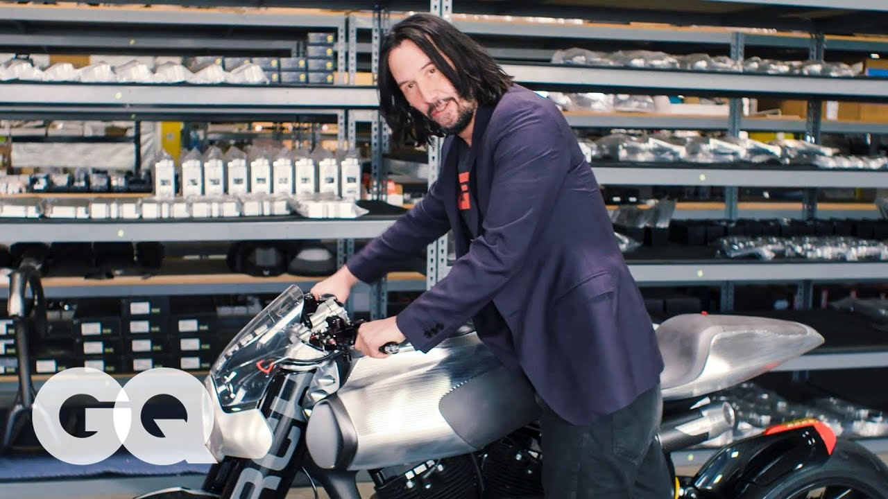Keanu Reeves a Arch Motocycle