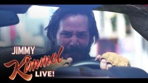 Keanu Reeves a Jimmy Kimmel: Přiměřená rychlost