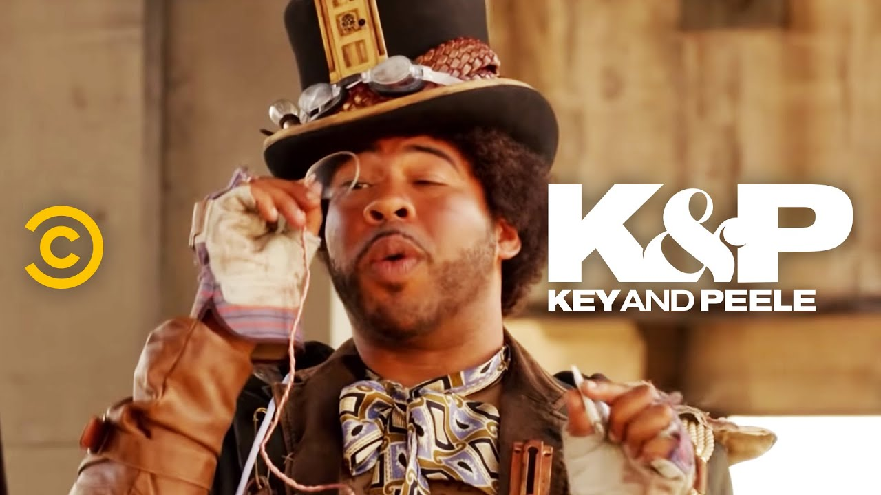 Key & Peele: Kámoš, co je steampunk