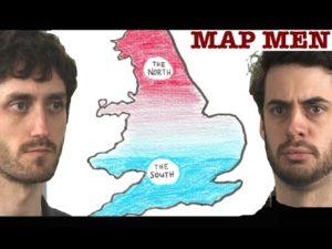 Map Men #3: Kde je předěl mezi Severem a Jihem?