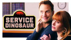 Můj dinosaur je služební zvíře