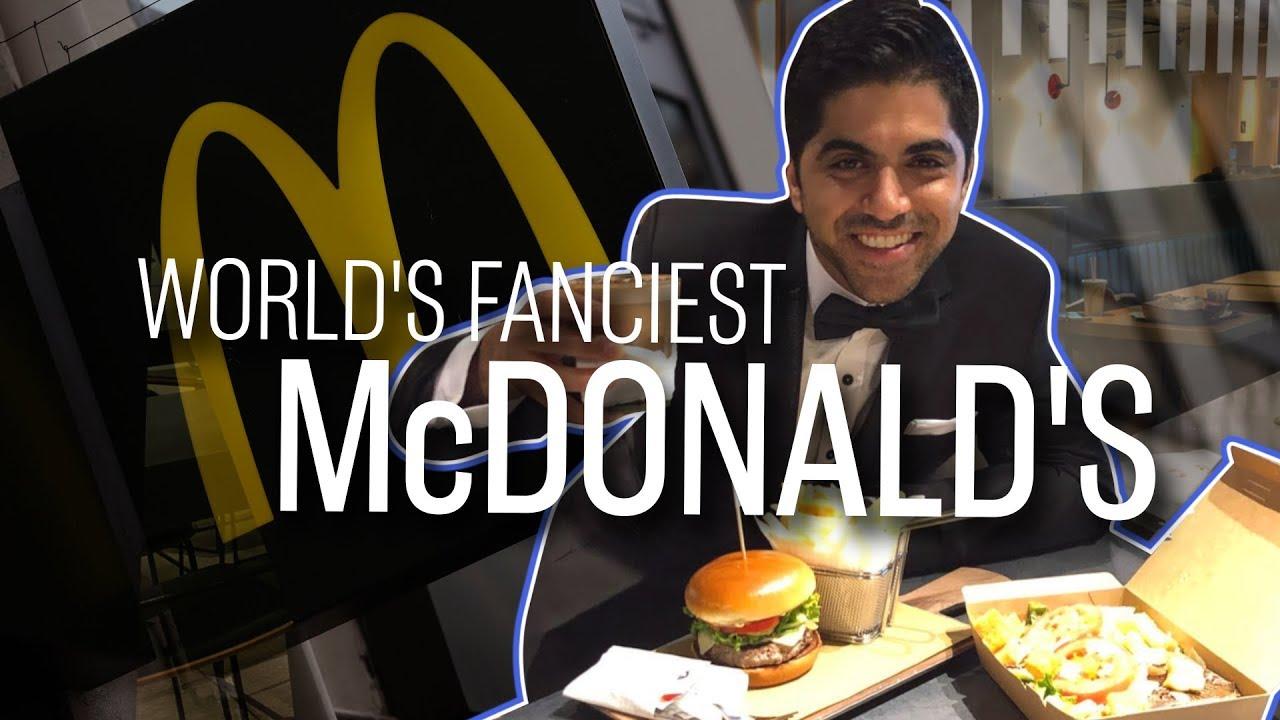 Nejluxusnější McDonald's?
