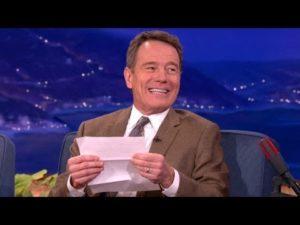 Oblíbený erotický dopis Bryana Cranstona