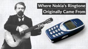 Odkud je legendární Nokia vyzvánění