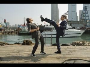 Pan Bean jako mistr kung-fu