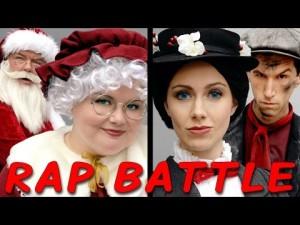 Paní Clausová vs. Mary Poppins: Rapový duel princezen