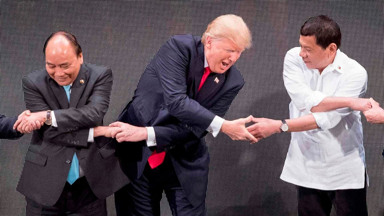 Podivné chvíle Donalda Trumpa za rok 2017