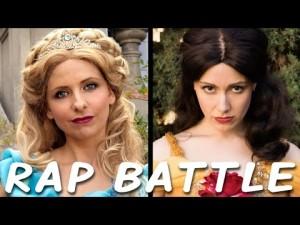 Popelka vs. Kráska: Rapový duel princezen